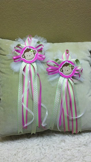 Crafting Baby Shower Corsages