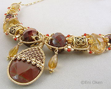 The wire work of Eni Oken, inspired me to do wire work.