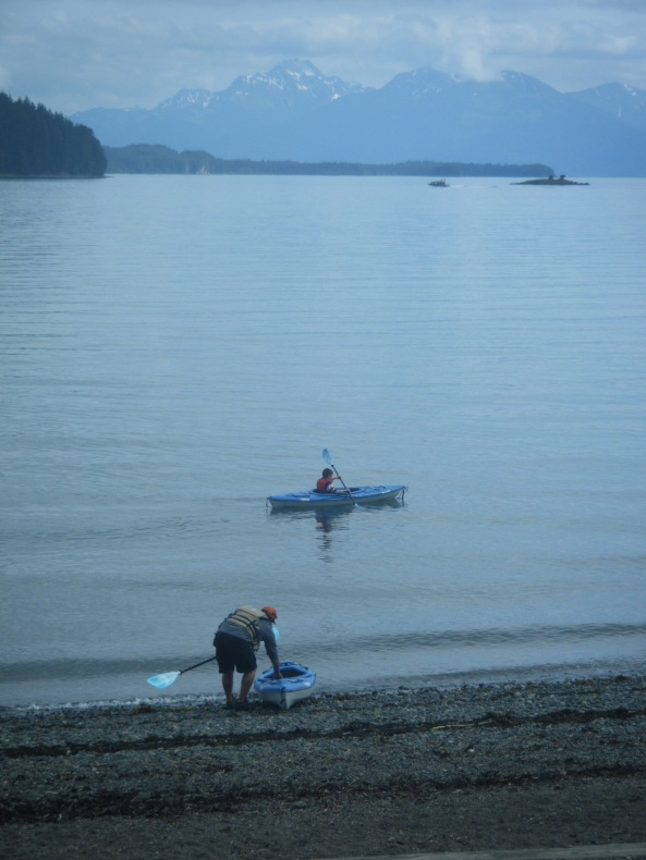 Out near Indian Cove, Southeast Alaska